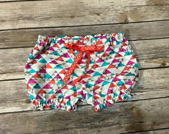 Aztec bloomers/bubble shorts .made to order girls