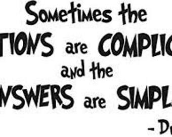 Dr. Seuss Classroom Quote