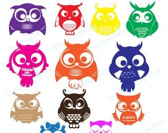 Owl Silhouette Etsy