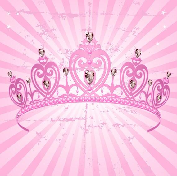 Pink Crown Backdrop