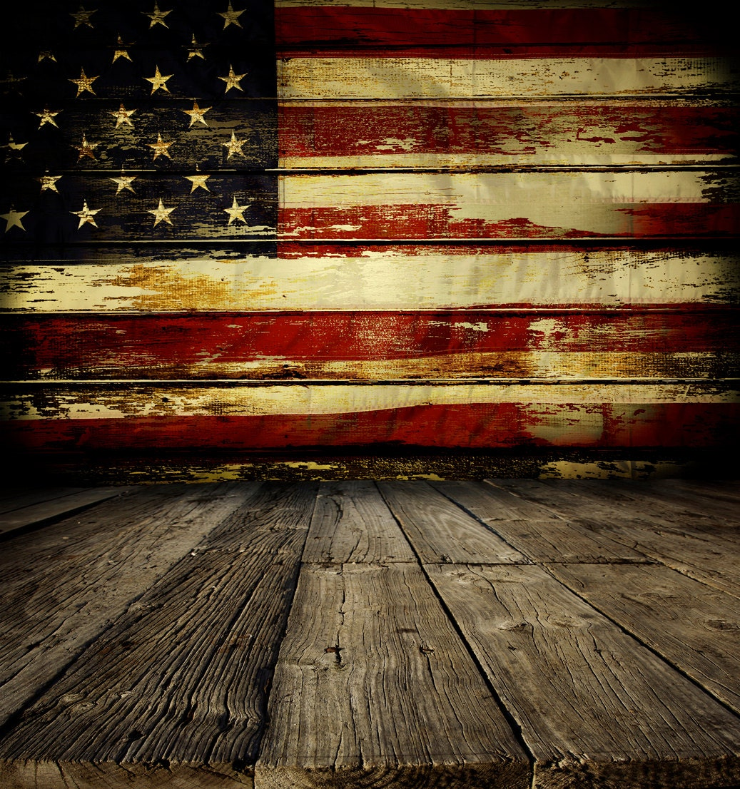 Rustic american flag backdrop patriotic 4th of july - Rustic background ...