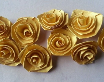 Quilling Quilled Paper Handmade Roses Scrapbooking & Card Making