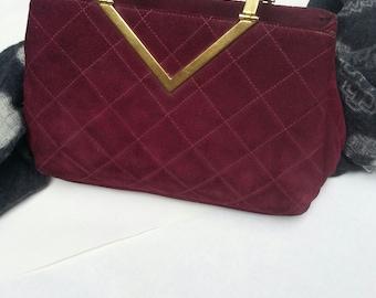 1971 Suede Handbag