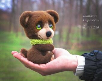 Bear named Tom (Made to order)
