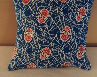 Spiderman Glow in the Dark pillow cover