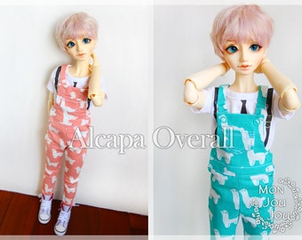 1/3BJD Alcapa / Bear overall For 10SD / SDGR / DD girl/boy doll