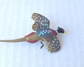 Vintage pheasant pin/brooch