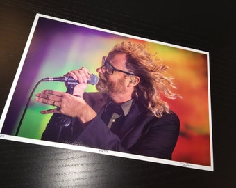 The National - Matt Berninger - Treasure Island Music Festival - San Francisco -  8x12 Photo is Limited Edition signed and #/5
