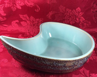 Console Teal Bowl