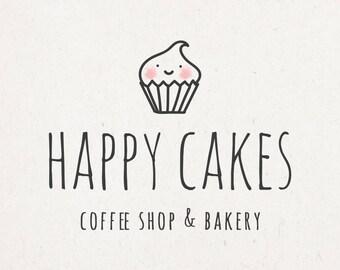 Bakery Business Logo - whimsical logo, bohemian logo, bohemian branding, whimsical branding, blog logo, logo design, bakery branding