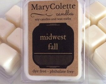 Midwest Fall Soy Wax Melts | Fall Scented Wax Melts | Soy Wax Melts | Scented Wax Melts