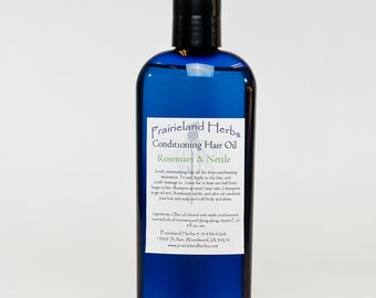 Conditioning Hair Oil 8 Oz. organic natural deep conditioner