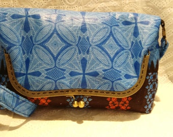 African fabric large bag