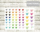 F02 Teacup Stickers, perfect for any Planner