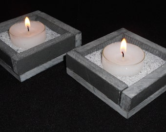 Tea light candle holder - single