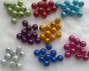 10mm Miracle Beads in Your Choice of Colors