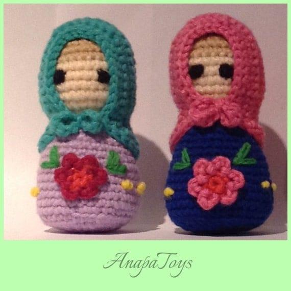 Amigurumi Nesting Dolls : Matryoshka AMIGURUMI