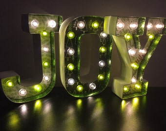 Marquee LED Letters - JOY