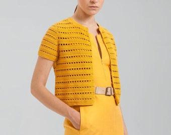 Crochet jacket PATTERN, trendy cardigan PATTERN, detailed instructions in ENGLISH, easy crochet jacket pattern,  cardigan pattern