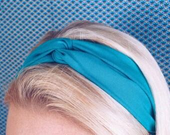 Teal Twisted Headband