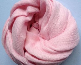 Little Girl Linen Scarf / Shawl