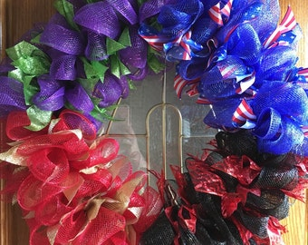Superhero Wreath