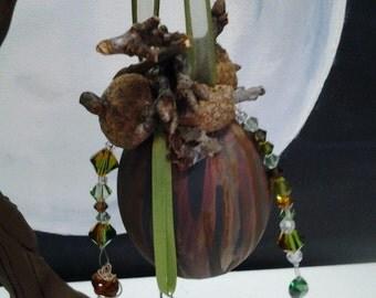 Tree Spirit Egg Ornament