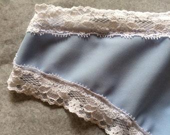 Panties/Lingerie/Lace/ briefs/knickers/Honeymoon/Bridal/Bridal Lingerie/Something Blue /Underwear/Wedding/