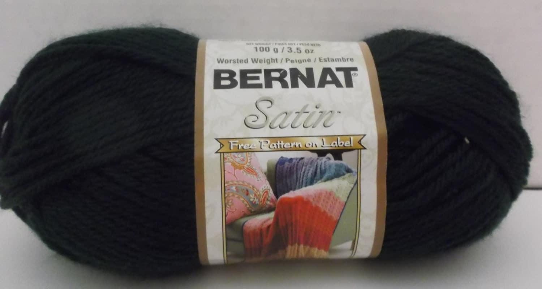 Bernat Satin Yarn Colour 04237 Forest Pine 100 Grams