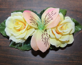 Floral Hair Barrette