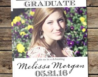GRADUATION PARTY INVITATION | Graduation Announcement