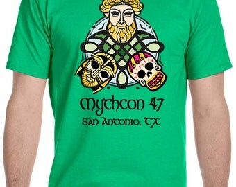 Mythcon 47 ~ San Antonio Tx ~ S-XL ~ Donation to Mythcon included with order ~ Custom T-Shirts