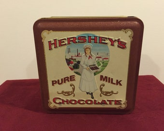 Hershey Candy Tin, Vintage Edition #2