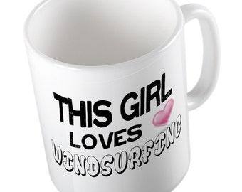 This Girl loves WINDSURFING Mug