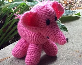 Pretty in pink elephant