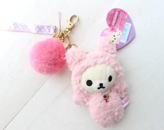 Korilakkuma Bunny Keychain