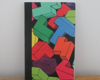 Tetris Illustrated Notebook