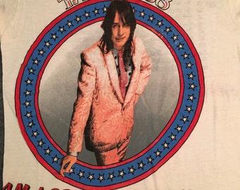 RARE 1988 Todd Rundgren Am I President Yet? Tour T-shirt