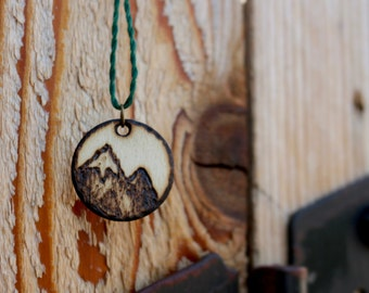 Woodland Mountain Necklace