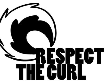 Respect the Curl! Husky decal