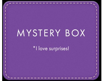 Paper Craft Mystery Box! For surprise-lovers :-)