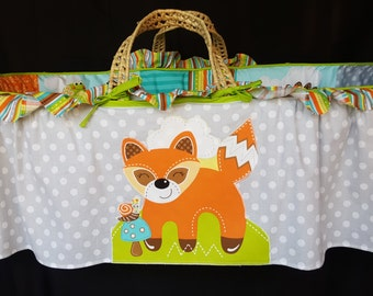 Fox and Friends Baby Moses Basket