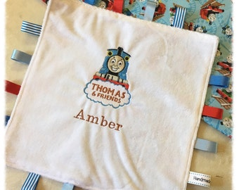 Thomas the Tank Engine Taggy Blanket