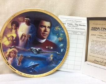 Vintage, Star Trek, with COA,  1994, Star Trek IV The Voyage Home, by Morgan, 3267E