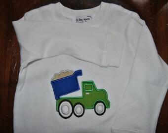 Dump Truck Toddler Shirt
