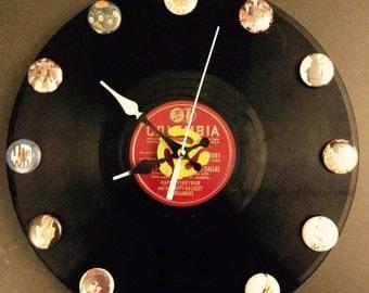 Classic rock clock