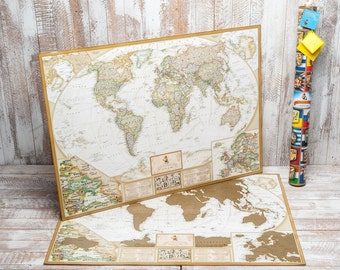 World Map, Scratch Off Map, Scratch World Map, World Map Scratch, Scratch Off World Map, Scratch Off 10 000 Cities And Places