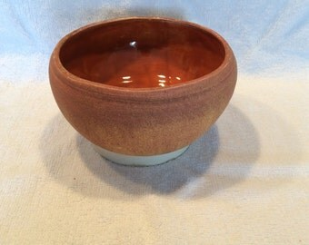 Earth-toned Stonewar Bowl  #15-14S