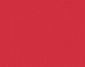 Circle Dot Red from Riley Blake - 1/2 Yard