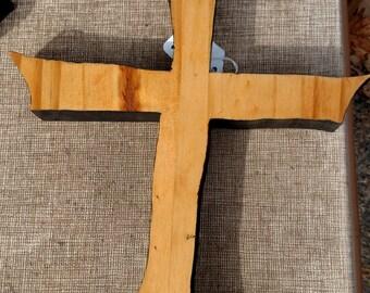 Wooden Cross Wall Hang